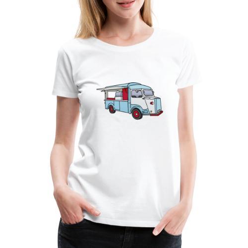 Imbisswagen Foodtruck c - Frauen Premium T-Shirt