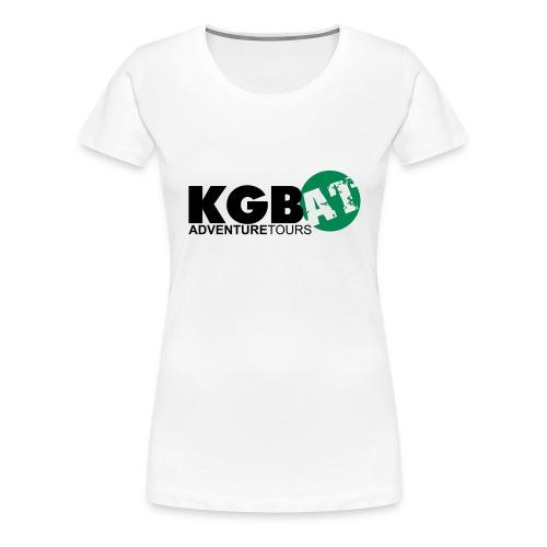 Logo KGB AT Spreadshirt 2 - Frauen Premium T-Shirt