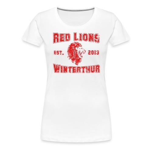 Winterthur Vintage - Frauen Premium T-Shirt