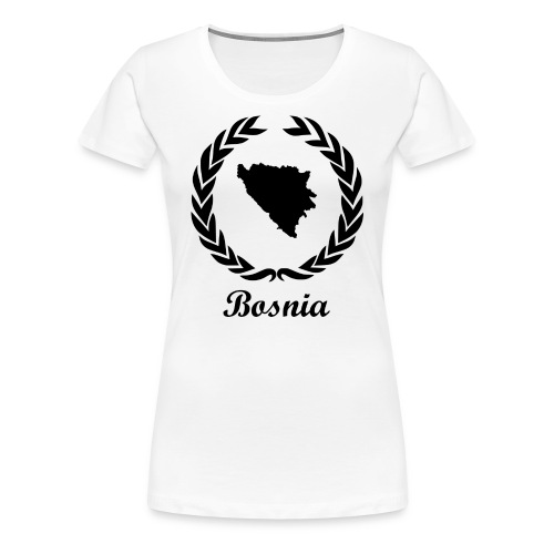Connect ExYu Shirt Bosnia - Women's Premium T-Shirt