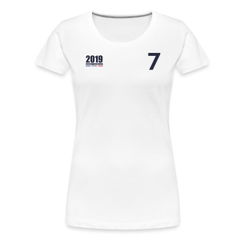 France 2019 - T-shirt Premium Femme