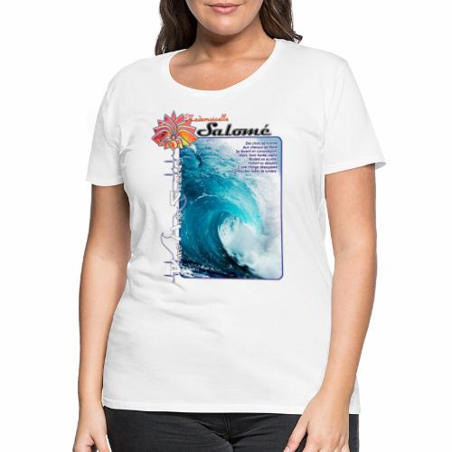 SBG - Waves - T-shirt Premium Femme