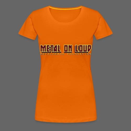 MOL Letter Logo Randy - Women's Premium T-Shirt