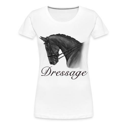 Dressage Horse Mug - Women's Premium T-Shirt