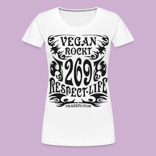 VEGAN TRIBAL - Frauen Premium T-Shirt