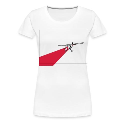 AVION TRICOLOR - Camiseta premium mujer
