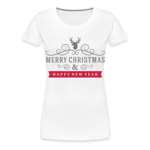 We whish you 4 - T-shirt Premium Femme