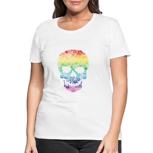 Skull colors - Women's Premium T-Shirt