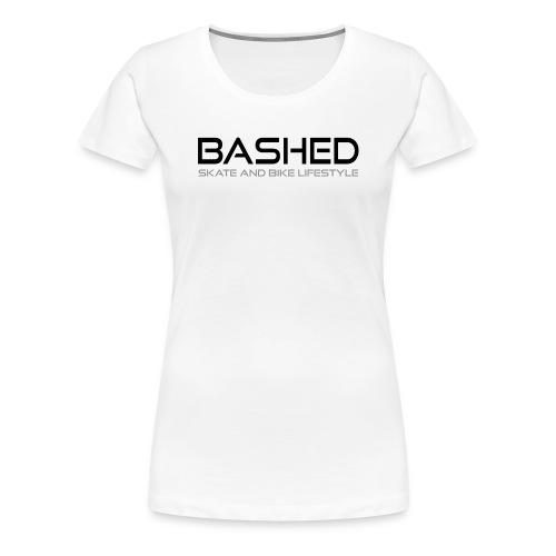 White iconic tee - Vrouwen Premium T-shirt
