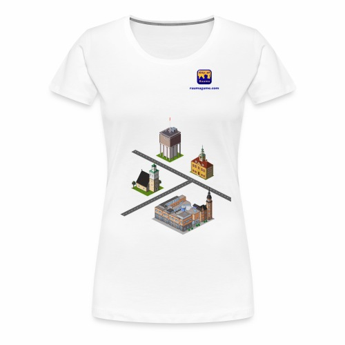 Raumagame mix for white / bale bg - Women's Premium T-Shirt
