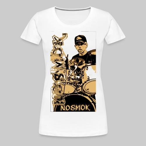 NoSMoK - Jean - Light - T-shirt Premium Femme