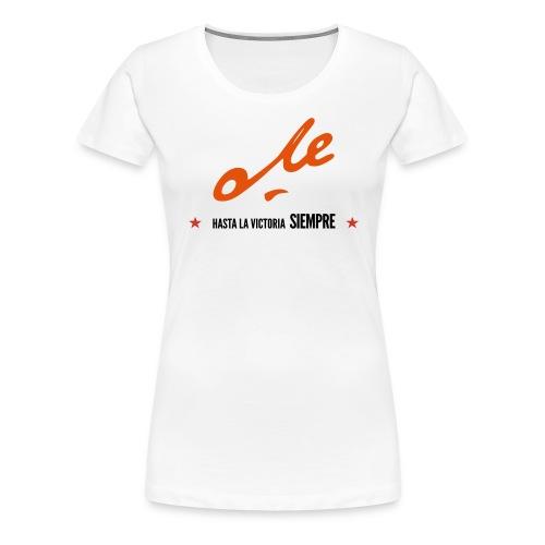 Che | Hasta la victoria siempre - Camiseta premium mujer