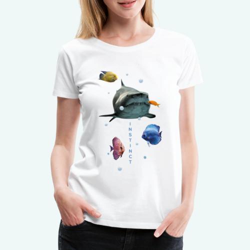 Instinkt - Frauen Premium T-Shirt