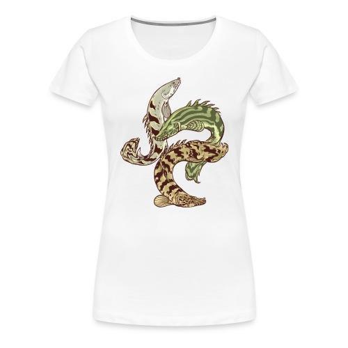 Bichir - Premium-T-shirt dam
