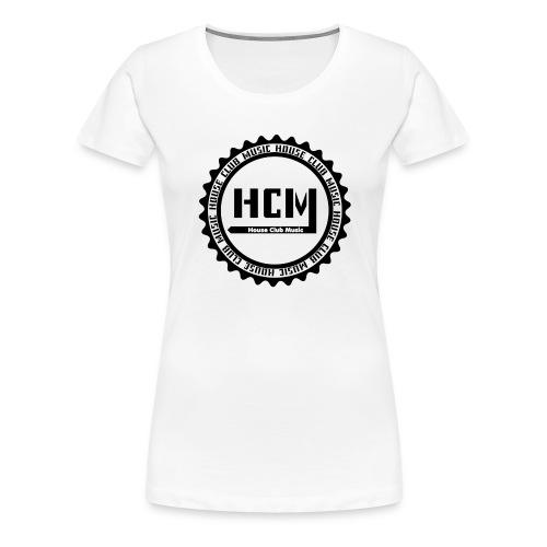 Pull House Club Music - T-shirt Premium Femme