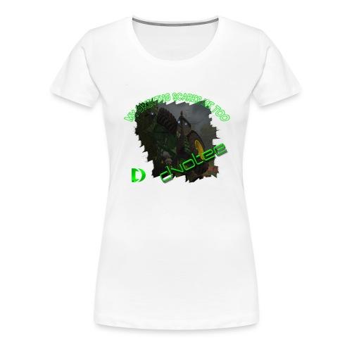 cleartlogotractor - Women's Premium T-Shirt