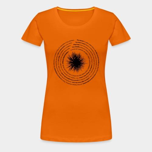 manifesto - Women's Premium T-Shirt