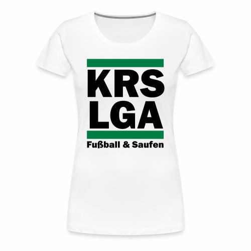 Das original Kreisliga Shirt KRSLGA - Frauen Premium T-Shirt