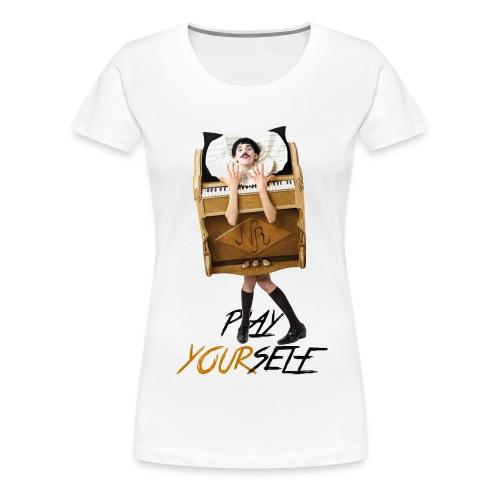 Play Yourself Nuno Roque Logo Color png - Women's Premium T-Shirt