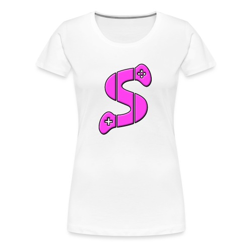 LOGO 2017 Rose - T-shirt Premium Femme
