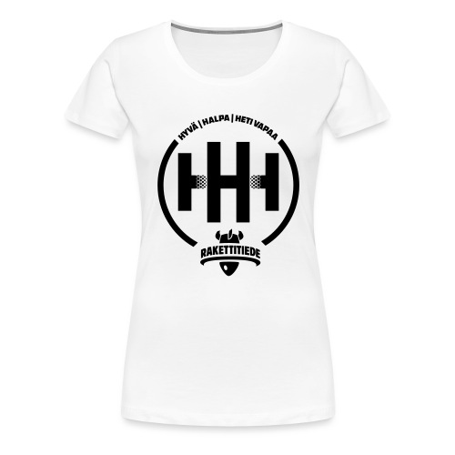 HHH-konsultit logo - Naisten premium t-paita