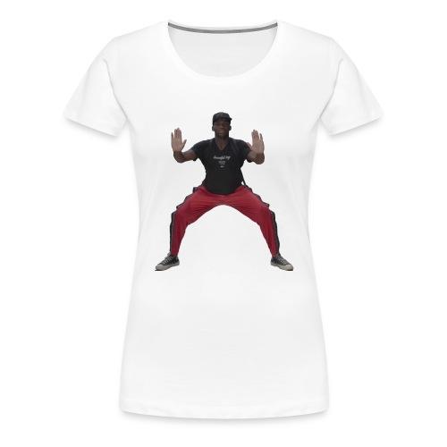 Arrêt du coeur Zango le dozo - T-shirt Premium Femme
