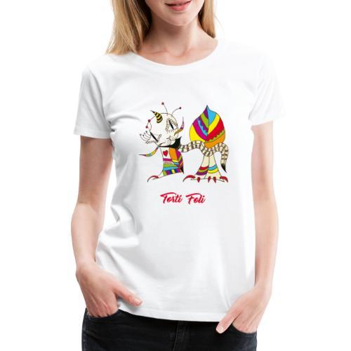 Torti Foli - T-shirt Premium Femme