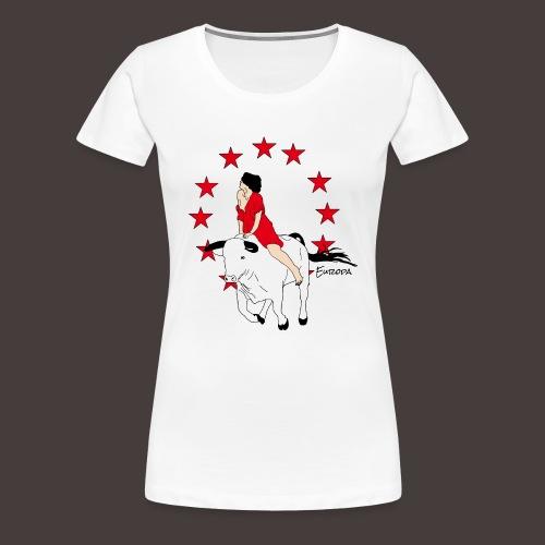 Europa - T-shirt Premium Femme