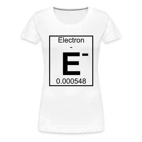 E (electron) - pfll - Women's Premium T-Shirt