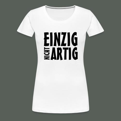 Herren T-Shirt - Einzigartig - weiss - Frauen Premium T-Shirt