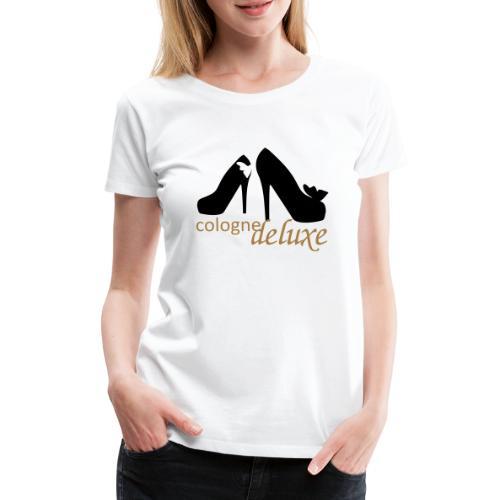 Cologne Deluxe High Heels - Frauen Premium T-Shirt