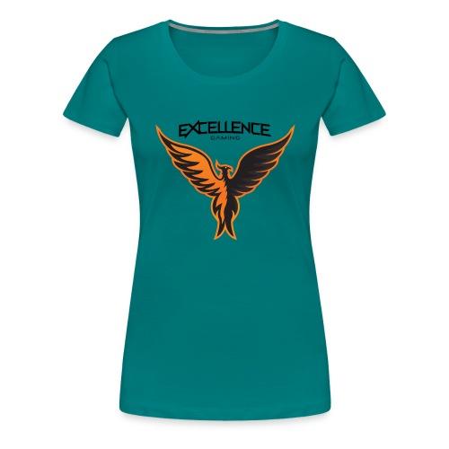 Logo Phoenix Typo - T-shirt Premium Femme