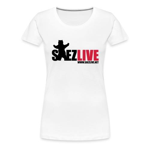OursLive (version dark) - T-shirt Premium Femme