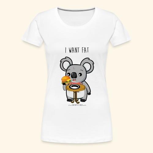 i want fate - T-shirt Premium Femme