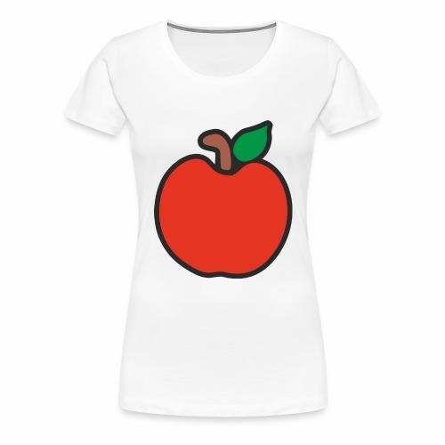 Apfel - Frauen Premium T-Shirt