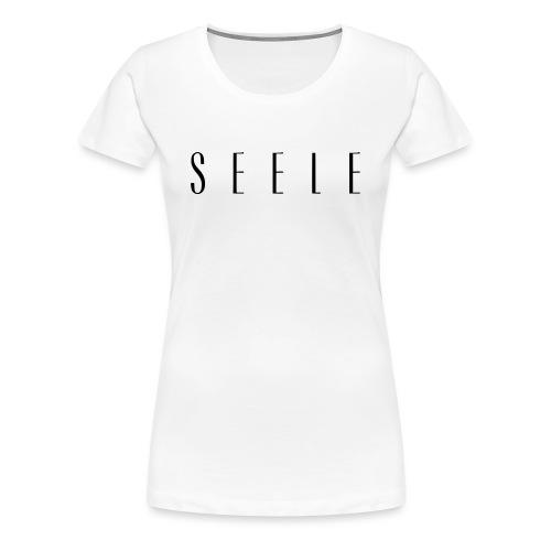 SEELE - Text Cap - Naisten premium t-paita