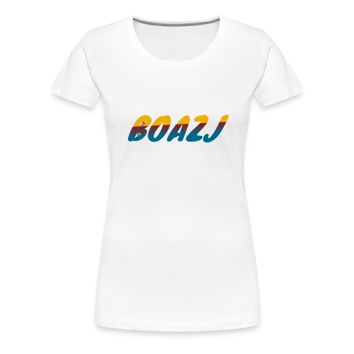 BoazJ Logo - Vrouwen Premium T-shirt