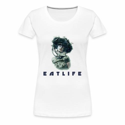 Space Woman - T-shirt Premium Femme