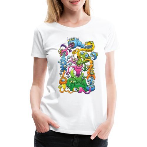 Monstrously Messy - Women's Premium T-Shirt
