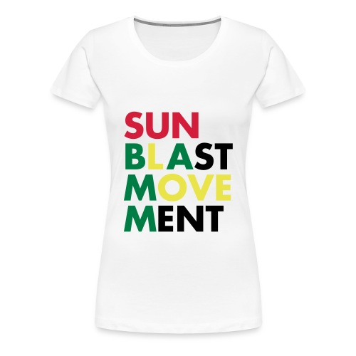 Sunblast Movement Love - Frauen Premium T-Shirt