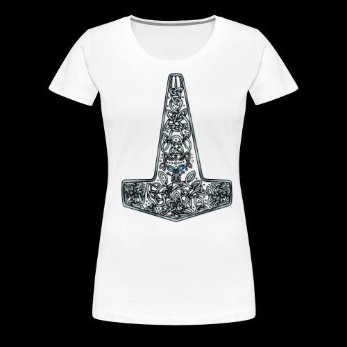 Wolf of Tyr silver - Women's Premium T-Shirt
