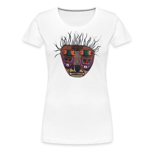 Weird Mask - Frauen Premium T-Shirt