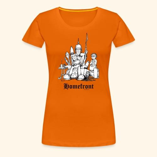 Homefront Heimatfront Waffen Mama Muttersöhnchen - Frauen Premium T-Shirt