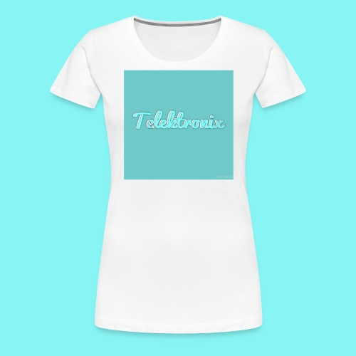 Telektronix Merch - Women's Premium T-Shirt