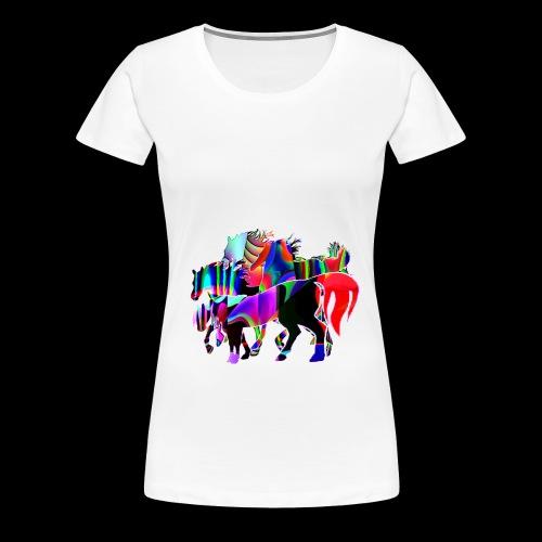 Die Familie - T-shirt Premium Femme