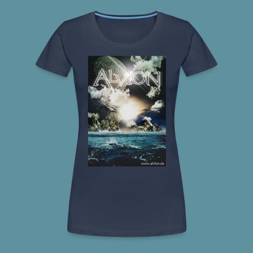 Alvion2NeueWelt jpg - Frauen Premium T-Shirt
