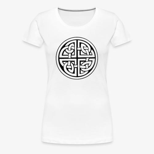 nudo perenne negro - Camiseta premium mujer