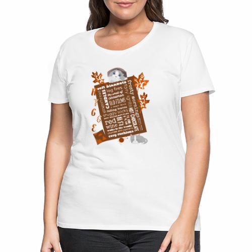 HYGGE MOMENTS - Women's Premium T-Shirt