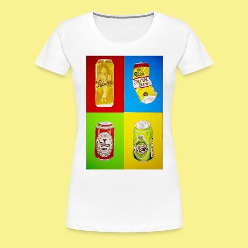 Øller's - Dame premium T-shirt