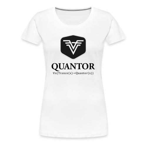 Quantor Logo Black - Frauen Premium T-Shirt